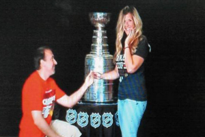 Stanley-Cup-Wedding-Couple